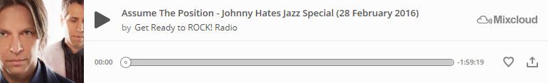 Johnny Hates Jazz Special at Mixcloud